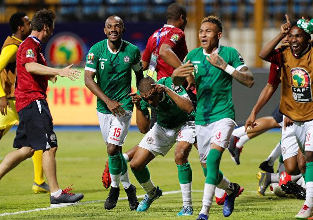 مباراة الكونغو ومدغشقر
