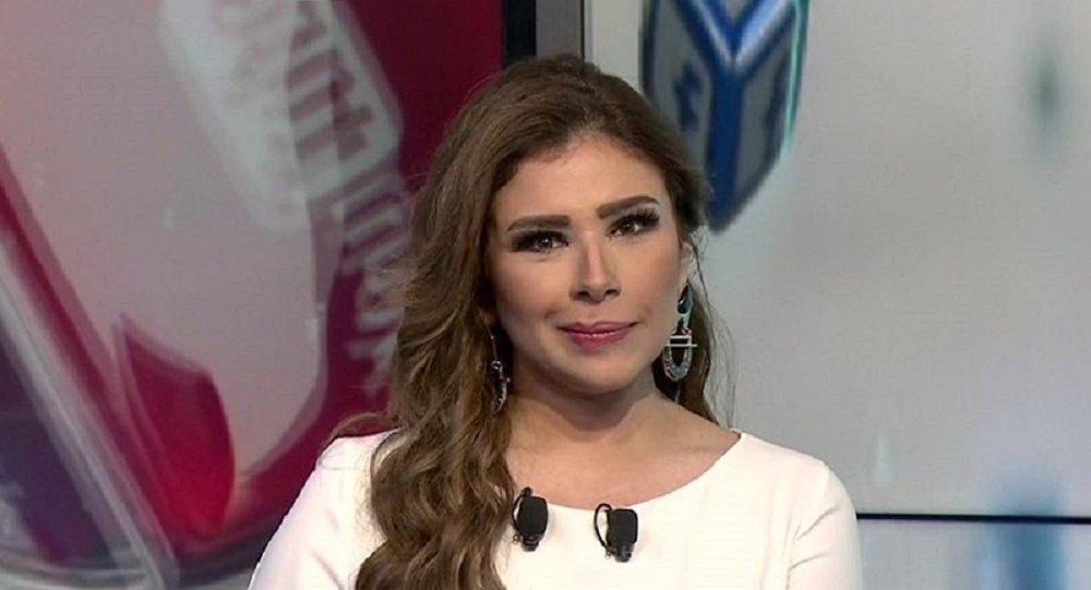 الإعلامية السعودية سارة دندراوي