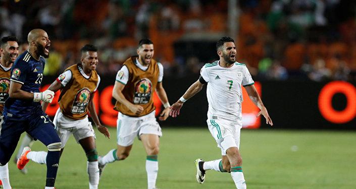 رياض محرز - منتخب الجزائر