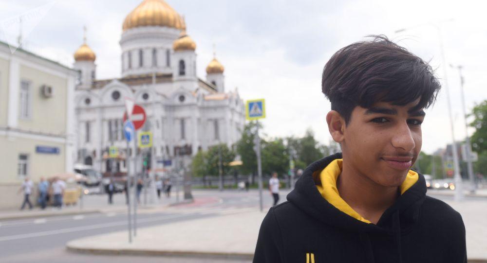 العراقي قاسم الكاظمي في موسكو