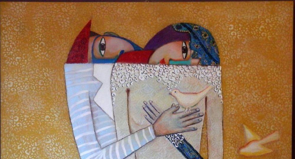 الأعمال الفنية للفنانة التشكيلية لبنى ياسين