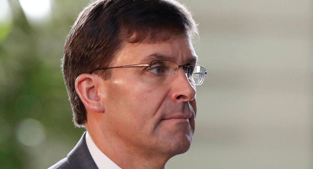 وزير الدفاع الأمريكي، مارك أسبر