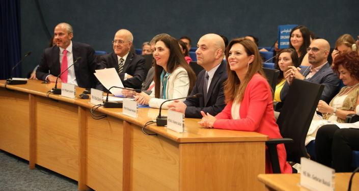 وزير المرأة اللبنانية