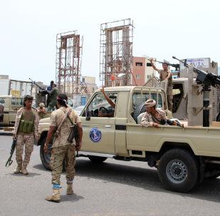 قوات المجلس الانتقالي الجنوبي، عدن، اليمن 10 أغسطس 2019