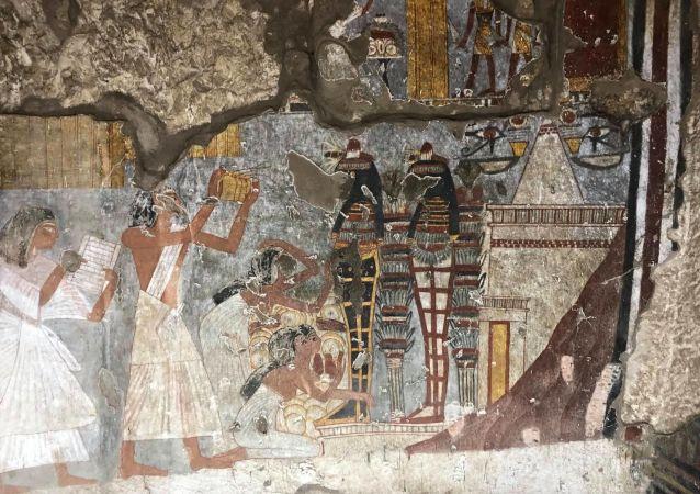 مقبرة فرعونية في مدينة الأقصر