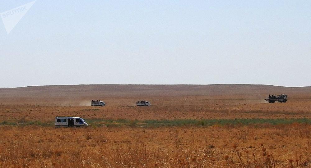 الدفاع الوطني السوري يدمر أهدافا نوعية قرب الحدود العراقية