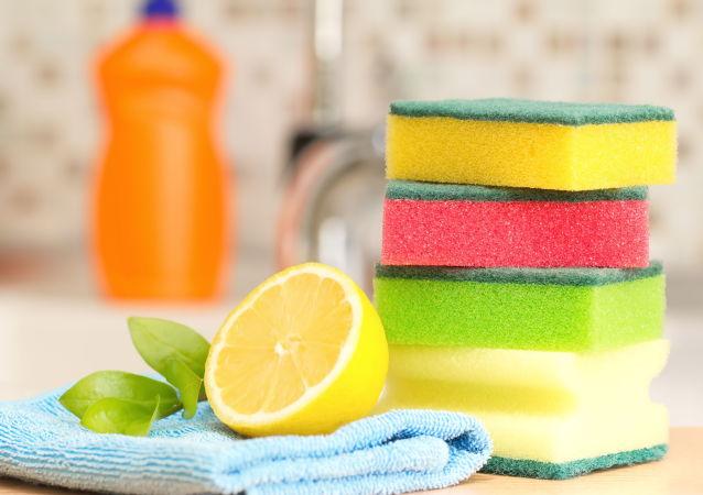 إسفنج لغسل الصحون