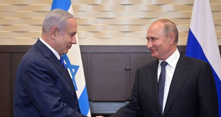 الرئيس الروسي ورئيس الوزراء الإسرائيلي