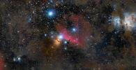صورة بعنوان جوار أوريون (The Jewels of Orion) للمصور البريطاني روس كلارك، الحائز على جائزة سير باتريك (SIR PATRICK MOORE PRIZE FOR BEST NEWCOMER) في المسابقة