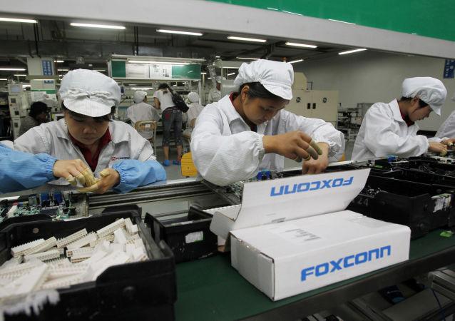 المصنع الصيني الرئيسي الذي تقوم فيه فوكسكون التايوانية بتصنيع معظم أجهزة آيفون