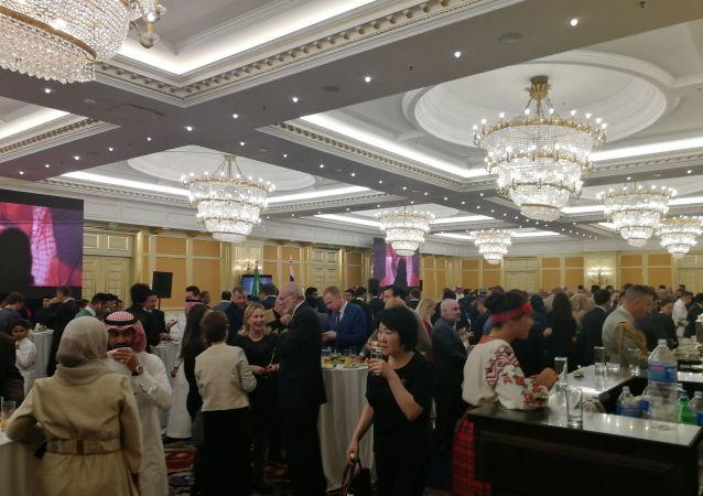 بالصور..سفارة السعودية لدى موسكو تحتفل باليوم الوطني الـ 89
