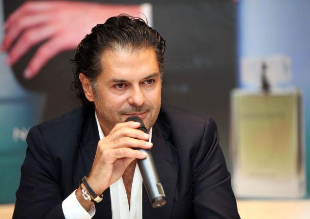 المطرب اللبناني راغب علامة