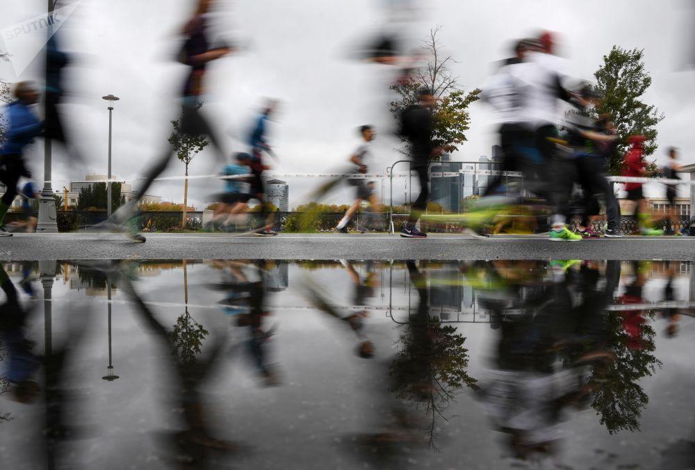 مهرجان سباق الجري في موسكو