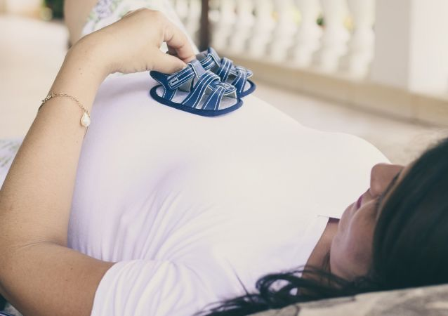 امرأة حامل