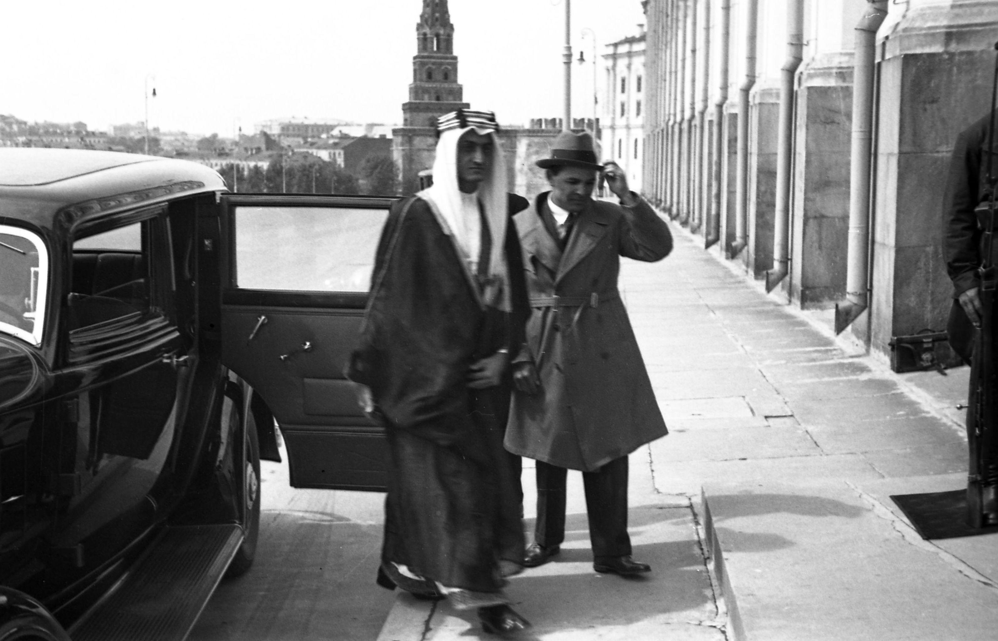 أمير الحجار في الكرملين 1932