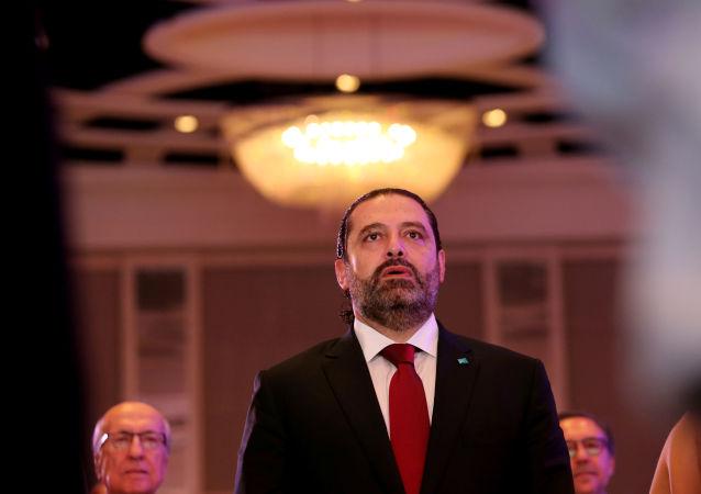 رئيس مجلس الوزراء اللبناني سعد الدين الحريري، 7 أكتوبر 2019