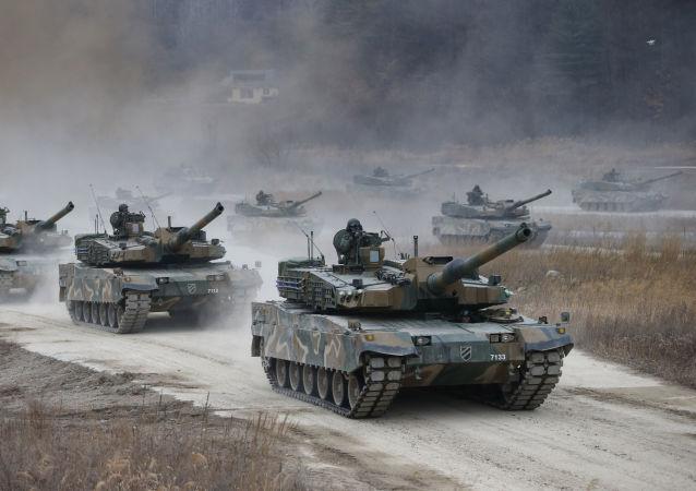 دبابات كوريا الجنوبية