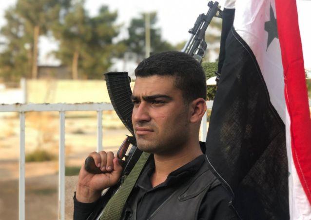 الوضع على الحدود السورية التركية، قوات الجيش السوري في عين العرب (كوباني)، سوريا