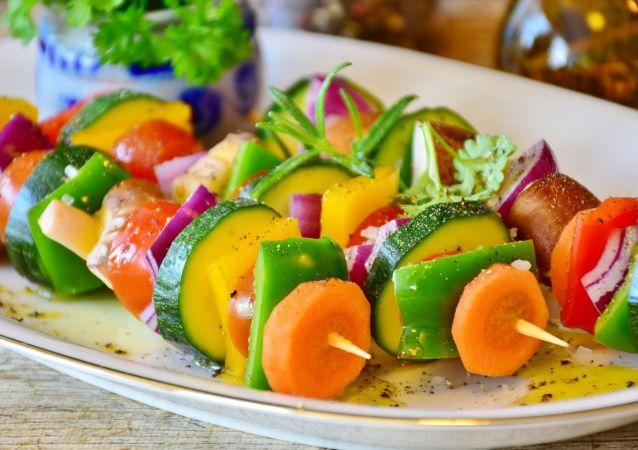 مشاوي من الخضراوات