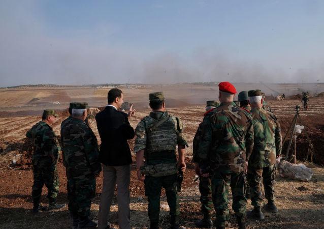 زيارة الرئيس السوري بشار الأسد اليوم إلى جنوب إدلب
