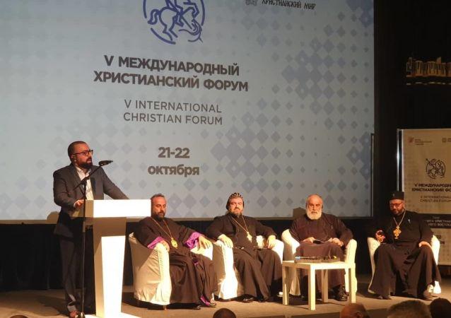 فعاليات المنتدى المسيحي الدولي في دورته الخامسة