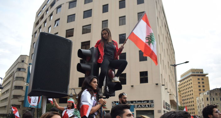 استمرار الاحتجاجات في لبنان، 23 أكتوبر 2019