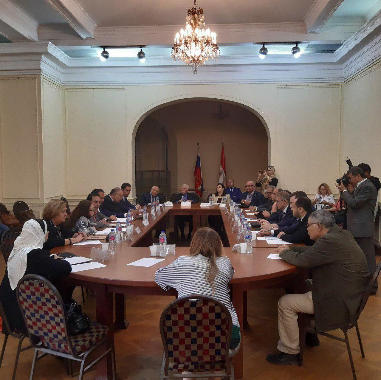 أقيمت مائدة مستديرة تحت عنوان روسيا ومصر: حوار إنساني من أجل المستقبل احتفالا بذكرى ميلاد يفغيني بريماكوف الـ90، 28 أكتوبر/تشرين الأول 2019