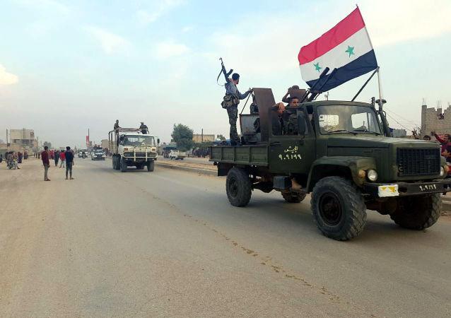 الجيش السوري في الحسكة