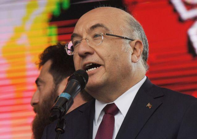 السفير التركي محمد سمسار