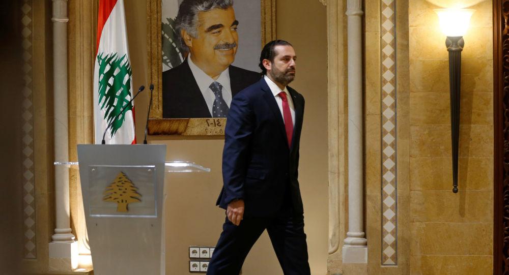 رئيس الوزراء اللبناني المستقيل سعد الحريري