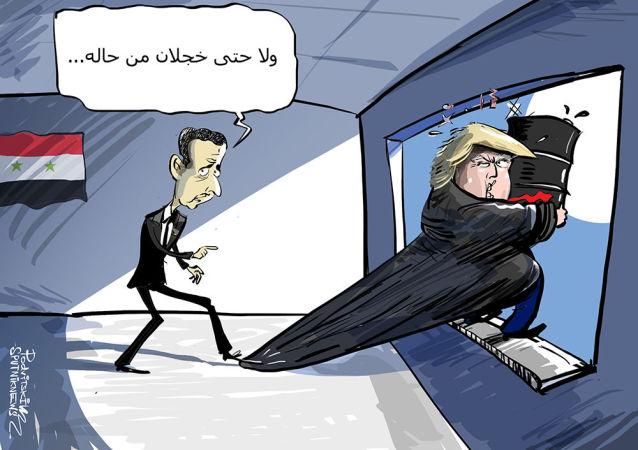 الأسد: ترامب أفضل رئيس أمريكي