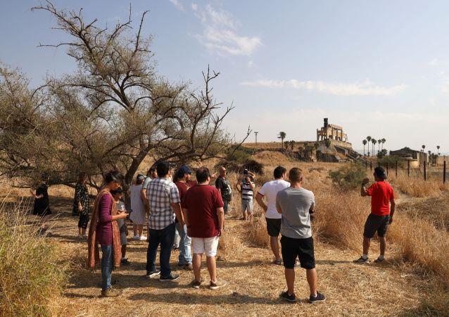 الباقورة على الحدود الأردنية الإسرائيلية