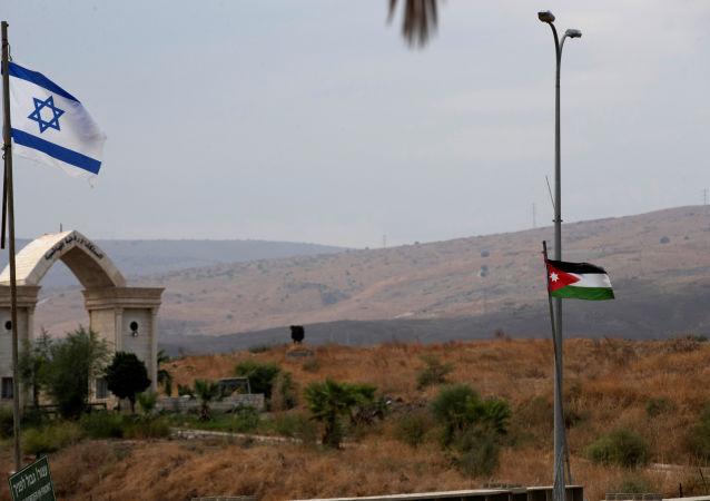 الحدود الإسرائيلية الأردنية