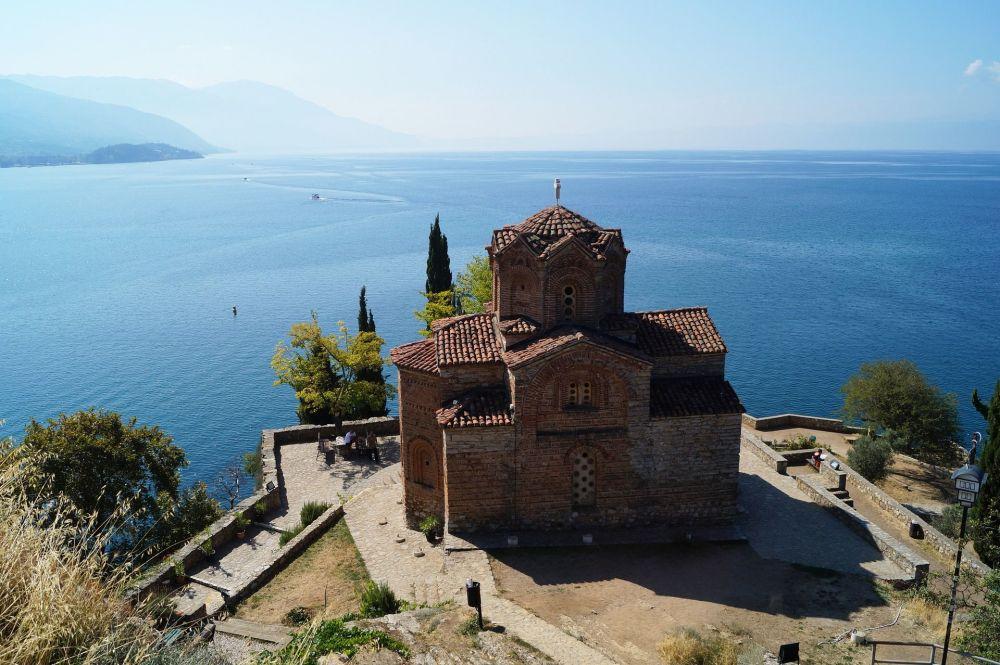 بحيرة أوخريد، شمال مقدونيا