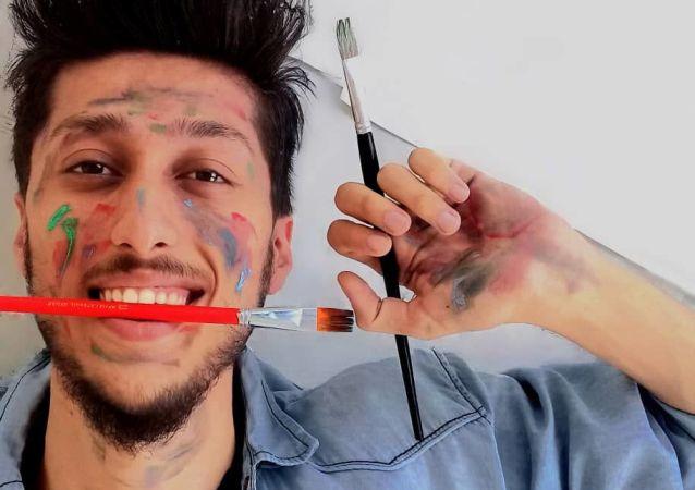 وسيم ن عيسى فنان سوري