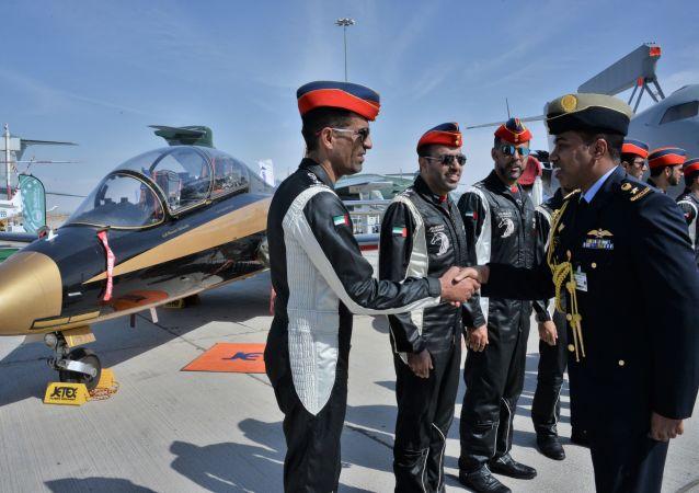 المشاركون في فعاليات معرض دبي للطيران لعام 2019، 17 نوفمبر 2019
