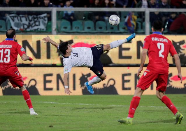 مباراة إيطاليا وأرمينيا (9-1) في تصفيات يورو 2020