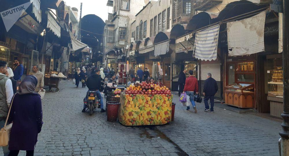 السوق القديم في دمشق