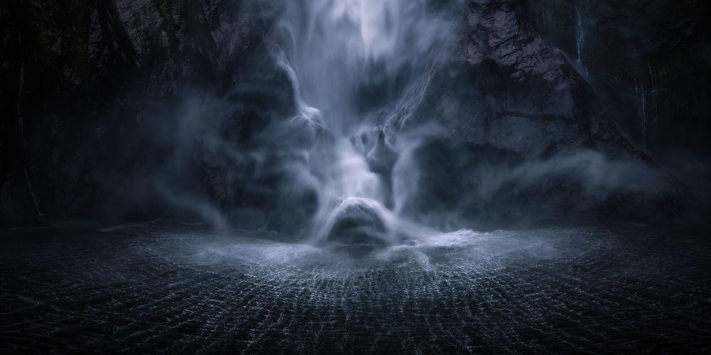 صورة الغرق للمصور السويسري سيمون روبيل، الفائزة في فئة جوائز المنسقين في مسابقة ذي إبسون بانو الدولية لعام 2019