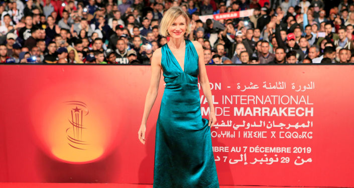 الممثلة الأسترالية ناعومي واتس في حفل افتتاح مهرجان مراكش الدولي للفيلم الـ18، المغرب، 29 نوفمبر/تشرين الثاني 2019