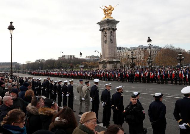 تكريم وطني في باريس لعسكريين فرنسيين