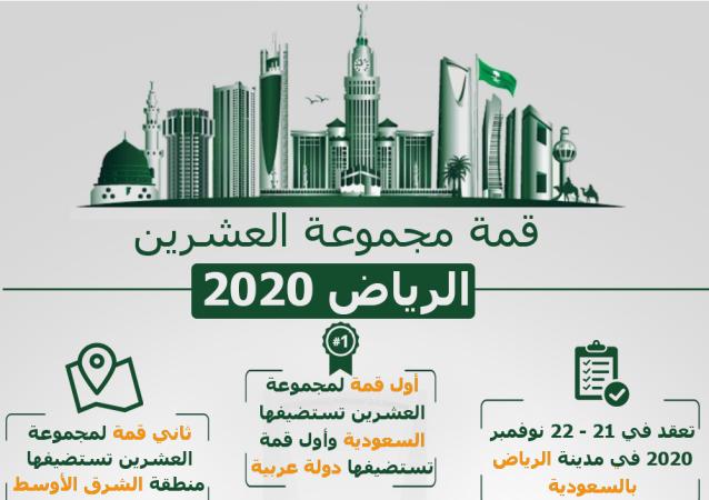 إنفوجرافيك - قمة مجموعة العشرين الرياض 2020