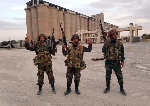 الجيش السوري يستعد لدخول محطة كهرباء حيوية قرب الطريق الدولي M4