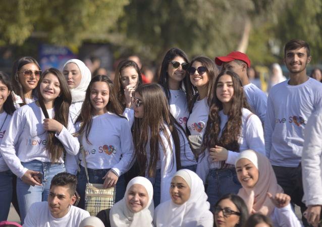 ماراتون دمشق بحبك سوريا