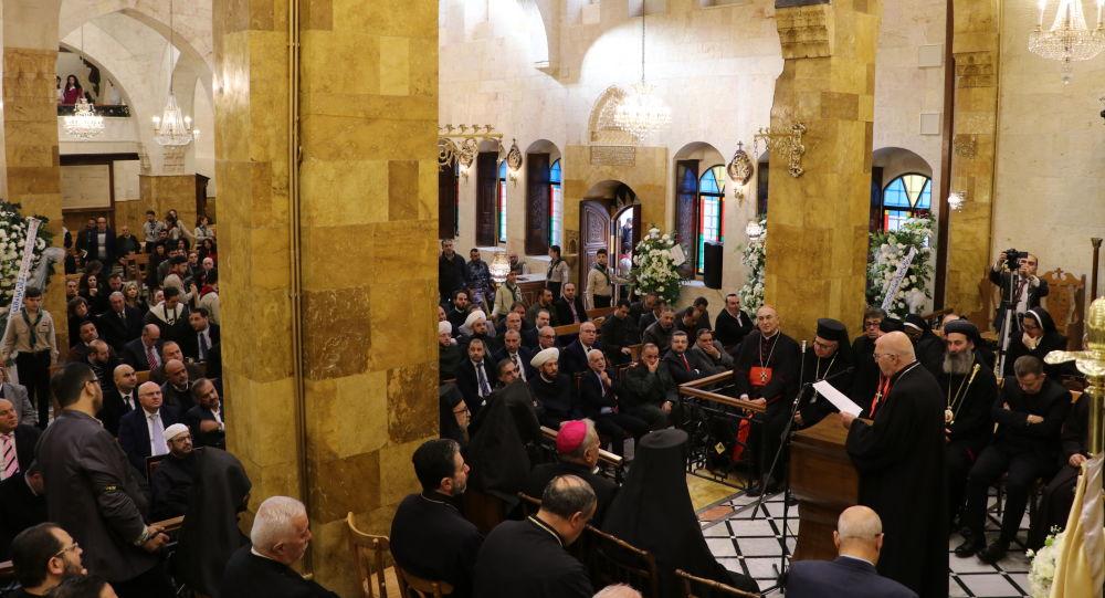 حلب تحتفي بنهوض كاثدرائية أم المعونة من ركام الحرب