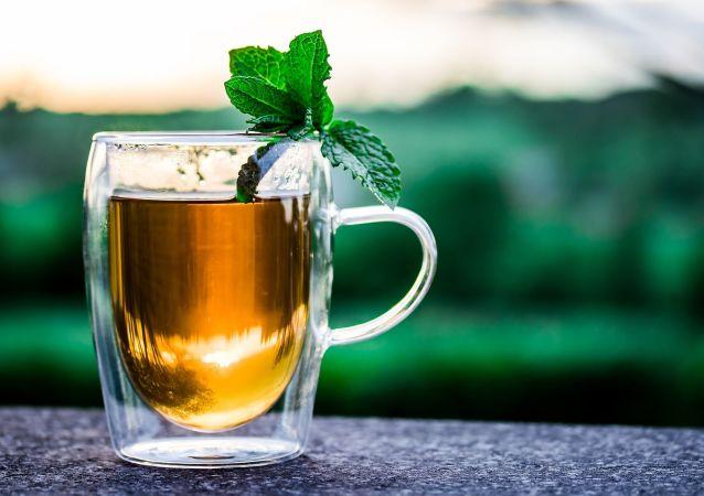 شاي بالنعناع