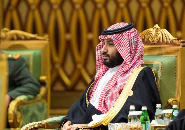 ولي العهد السعودي الأمير محمد بن سلمان أثناء القمة الخليجية في الرياض