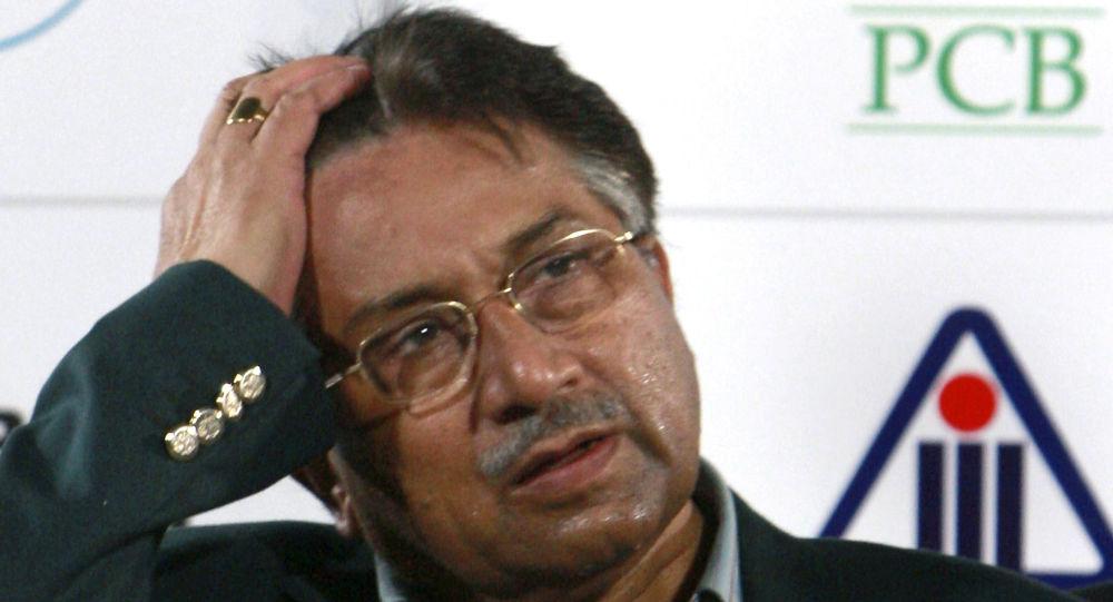الرئيس الباكستاني السابق، برويز مشرف