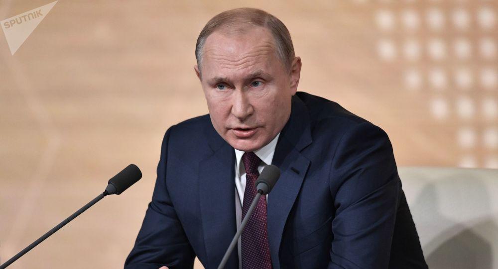 المؤتمر الصحفي السنوي الكبير للرئيس فلاديمير بوتين، 19 ديسمبر 2019