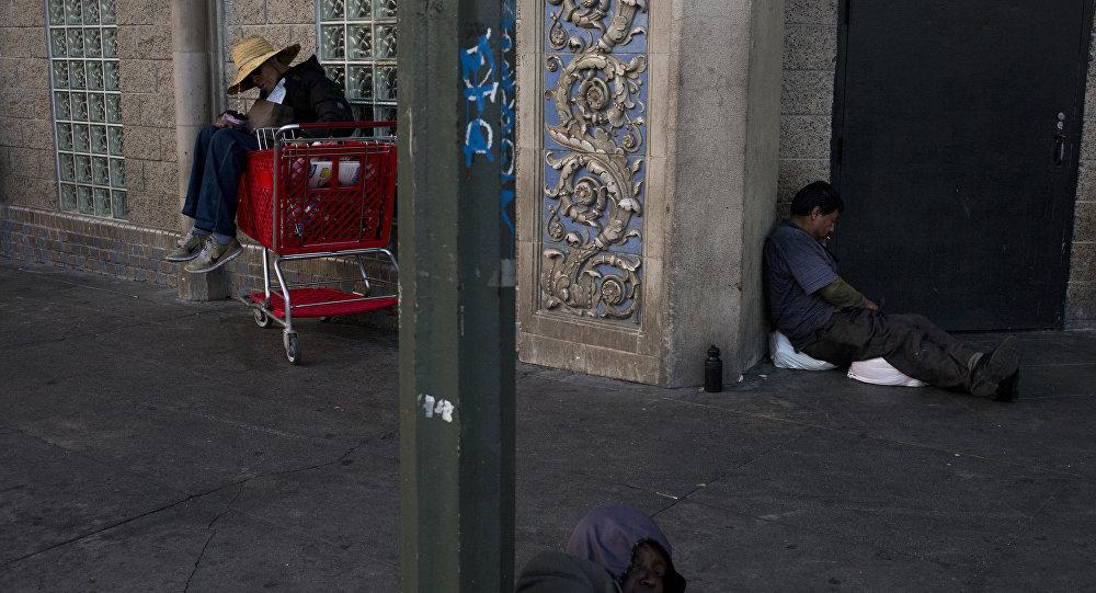مشردين بلا مأوى